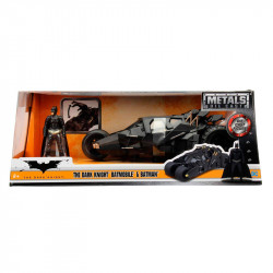 BATMAN AND BATMOBILE THE DARK NIGHT REPLICA