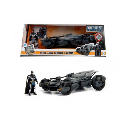 BATMAN AND BATMOBILE JUSTICE LEAGUE REPLICA