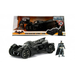 BATMAN AND BATMOBILE ARKHAM KNIGHT REPLICA