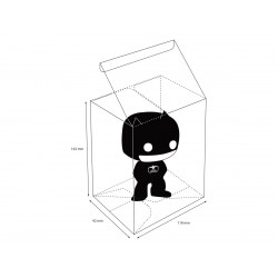ULTIMATE GUARD PROTECTIVE CASE BOITE DE PROTECTION POUR FIGURINE FUNKO POP!