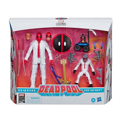 DEADPOOL & HIT-MONKEY MARVEL LEGENDS SERIES PACK 2 FIGURINES 8-15 CM