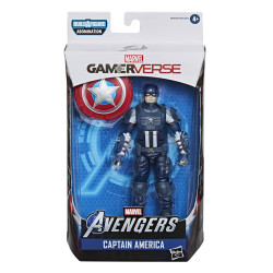 CAPTAIN AMERICA AVENGERS LEGENDS VIDEO GAME 6 INCH ACTION FIGURE