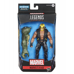 RAGE AVENGERS LEGENDS VIDEO GAME 6 INCH ACTION FIGURE