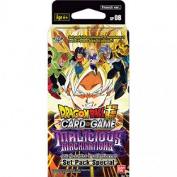 DRAGON BALL SUPER JCC SET PACK SPECIAL SERIE 8 MALICIOUS MACHINATIONS