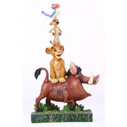BALANCE OF NATURE THE LION KING DISNEY TRADITION STATUE
