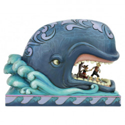 MONSTRO WITH GEPETTO AND PINOCCHIO DISNEY TRADITION STATUE