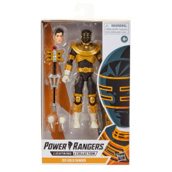 ZEO GOLD POWER RANGERS LIGHTNING MMPR ACTION FIGURE