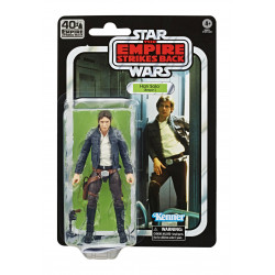 HAN SOLO STAR WARS BLACK SERIES E5 40TH ANN ACTION FIGURE