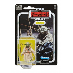 YODA STAR WARS BLACK SERIES E5 40TH ANN ACTION FIGURE