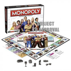 THE BIG BANG THEORY MONOPOLY GAME