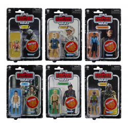 STAR WARS EPISODE RETRO ACTION FIGURE 6 PACK