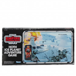 STAR WARS HOTH ICE PLANET RETRO GAME WITH ACTION FIGURE