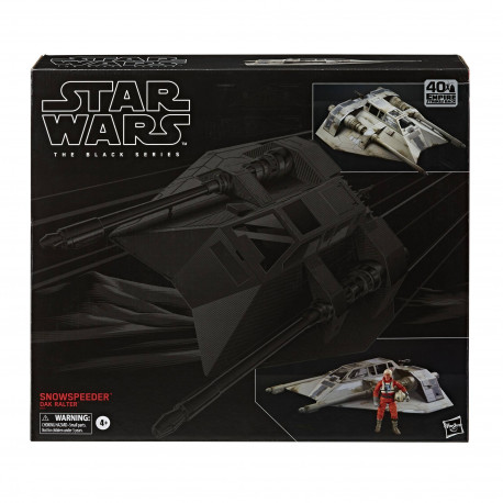 SNOW SPEEDER STAR WARS BLACK SERIES E5 40TH ANN ACTION FIGURE