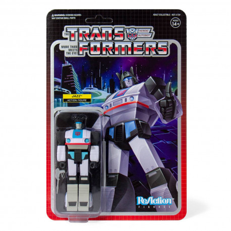 JAZZ TRANSFORMERS WAVE 1 REACTION ACTION FIGURE