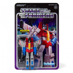 STARSCREAM TRANSFORMERS WAVE 1 REACTION ACTION FIGURE
