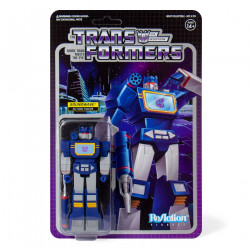 SOUNDWAVE TRANSFORMERS WAVE 1 REACTIONACTION FIGURE