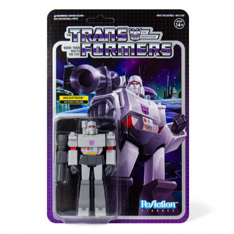 MEGATRON TRANSFORMERS WAVE 1 REACTION ACTION FIGURE