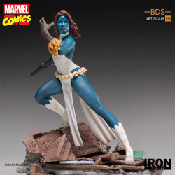 MYSTIQUE MARVEL COMICS BDS ART SCALE STATUE