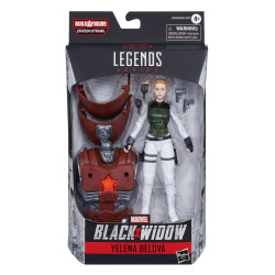 YELENA BELOVA MARVEL LEGENDS SERIES 2020 BLACK WIDOW FIGURINE 15 CM