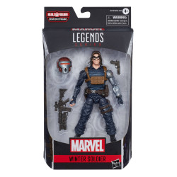 WINTER SOLDIER MARVEL LEGENDS SERIES 2020 BLACK WIDOW FIGURINE 15 CM