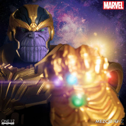 MARVEL UNIVERSE FIGURINE LUMINEUSE ONE:12 THANOS 21 CM