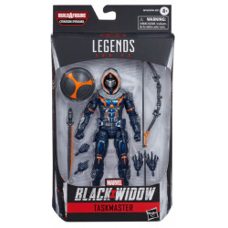 TASKMASTER MARVEL LEGENDS SERIES 2020 BLACK WIDOW FIGURINE 15 CM