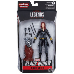 SPYMASTER MARVEL LEGENDS SERIES 2020 BLACK WIDOW FIGURINE 15 CM