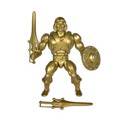 GOLD HE-MAN MASTERS OF THE UNIVERSE SERIE 3 VINTAGE COLLECTION ACTION FIGURE