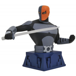 BATMAN THE ANIMATED SERIES BUSTE BEWARE THE BATMAN DEATHSTROKE 15 CM