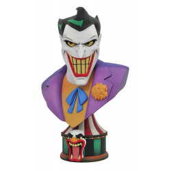 BATMAN THE ANIMATED SERIES LEGENDS IN 3D BUSTE 1 2 THE JOKER 25 CM