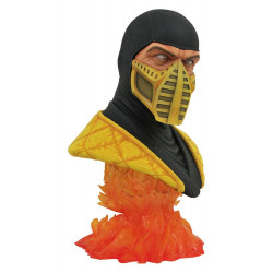 MORTAL KOMBAT LEGENDS IN 3D BUSTE 1/2 SCORPION 25 CM