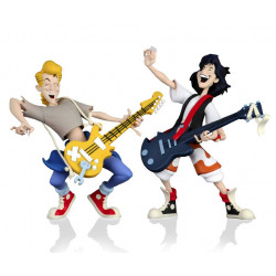 L EXCELLENTE AVENTURE DE BILL ET TED PACK 2 FIGURINES TOONY CLASSICS BILL TED 15 CM