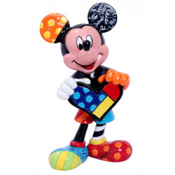 MICKEY MOUSE WITH HEART DISNEY BY BRITTO STATUE