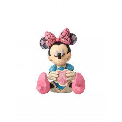 MINNIE WITH HEART DISNEY TRADITIONS STATUE