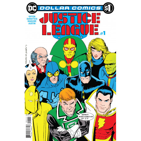 DOLLAR COMICS JUSTICE LEAGUE 1