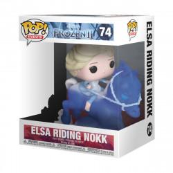 ELSA RIDING NOKK LA REINE DES NEIGES 2 FUNKO POP! RIDES VINYL FIGURINE 18 CM