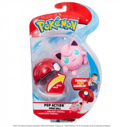POKEMON POKEBALL ACTION SETS AVEC PELUCHES RONDOUDOU