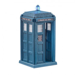 DOCTOR WHO 13TH DOCTOR'S TARDIS ACTION FIGURE DISPLAY 22CM