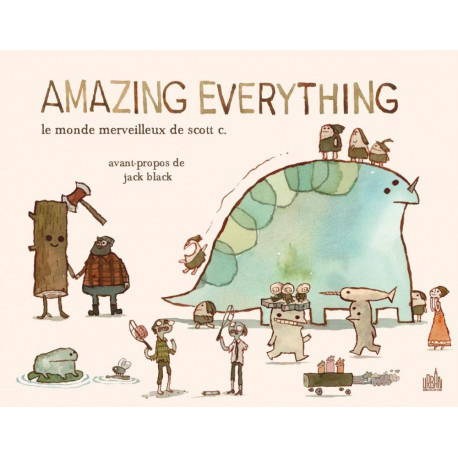AMAZING EVERYTHING:MONDE MERV - AMAZING EVERYTHING : LE MONDE MERVEILLEUX DE SCOTT C. - TOME 0