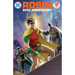 ROBIN 80TH ANNIV 100 PAGE SUPER SPECTACULAR 1 1970S KAARE ANDREWS VAR ED