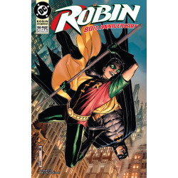 ROBIN 80TH ANNIV 100 PAGE SUPER SPECTACULAR 1 1990S JIM CHEUNG VAR ED
