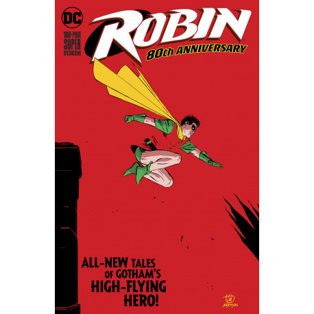 ROBIN 80TH ANNIV 100 PAGE SUPER SPECTACULAR 1