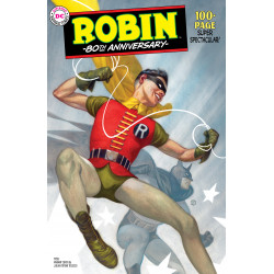 ROBIN 80TH ANNIV 100 PAGE SUPER SPECTACULAR 1 1950S JT TEDESCO VAR ED