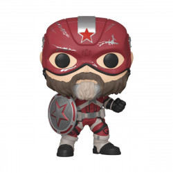 RED GUARDIAN BLACK WIDOW FUNKO POP! MARVEL VINYL FIGURINE 9 CM