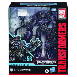 LEADER SHOCKWAVE TRANSFORMERS GEN STUDIO SERIES ACTION FIGURE