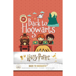 HARRY POTTER BACK TO HOGWARTS HC RULED JOURNAL WITH POCKET