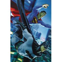 BATMAN SUPERMAN 9 MIKE MAYHEW VAR ED