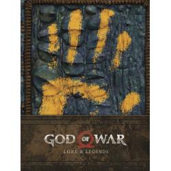GOD OF WAR LORE LEGENDS HC