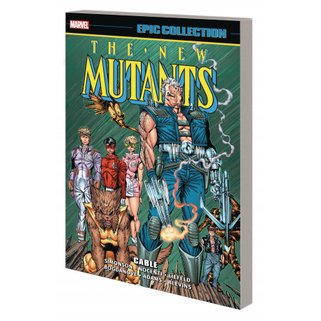 NEW MUTANTS EPIC COLLECTION TP CABLE