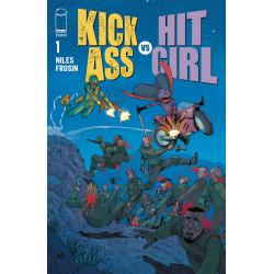 KICK-ASS VS HIT-GIRL 1 CVR D ARAUJO